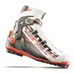 Alpina - obuv R COMBI 16 White/red/black