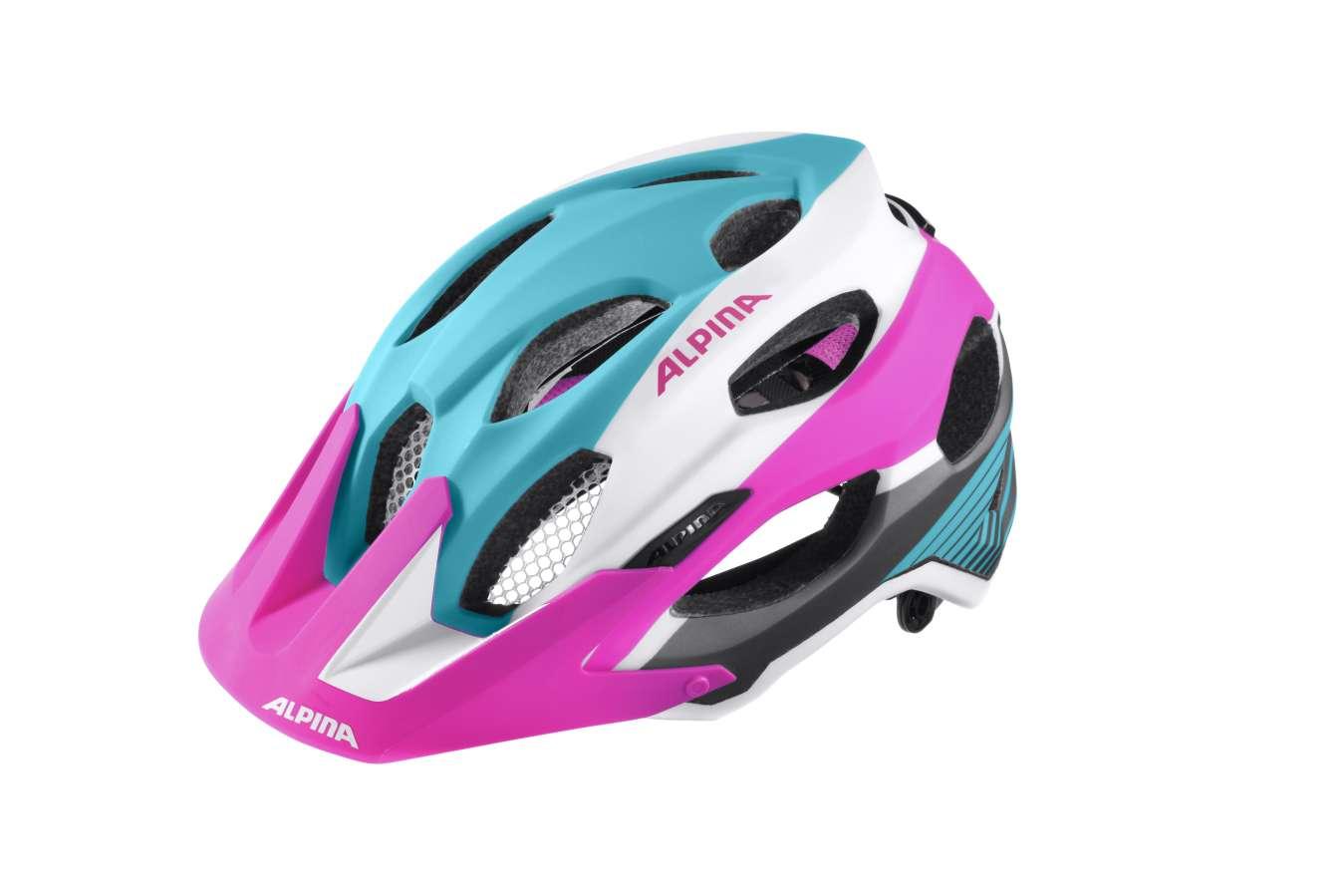 Alpina Přilba CARAPAX blue-pink-white 53-57  75847d1903b