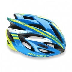 Přilba Rudy Project RUSH - HL570032 - Azur - Lime Fluo Shiny M (54-58cm)