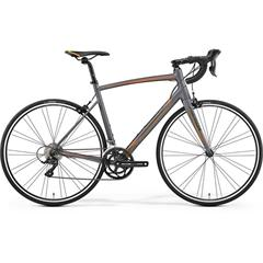 RIDE 100 Matt Anthracite(Orange/Black)